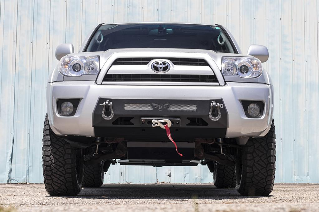 4th Gen 03-05 & 06-09 Front Integrated Bumper! 15 Percent Off Intro Pricing!-3-jpg