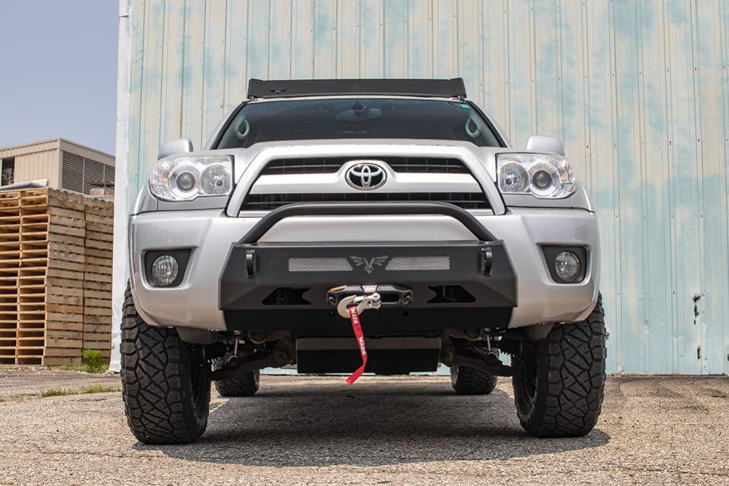4th Gen 03-05 & 06-09 Front Integrated Bumper! 15 Percent Off Intro Pricing!-v4r4fb-t_2-jpg