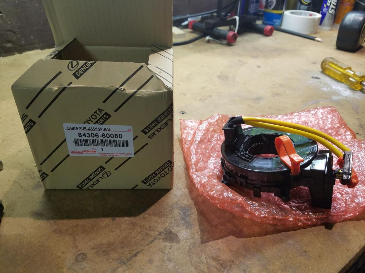 UPDATE FIXED* Clock spring replaced problem solved! - Airbag light stuck on-1-jpg