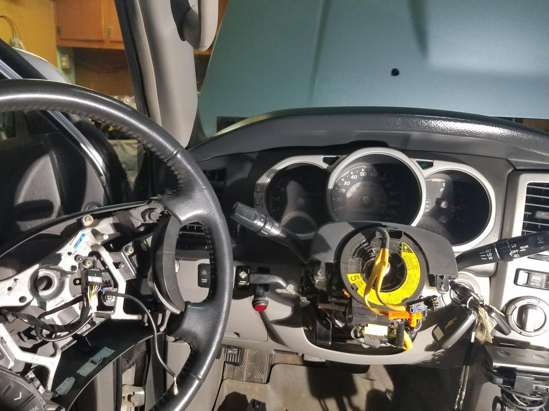 UPDATE FIXED* Clock spring replaced problem solved! - Airbag light stuck on-5-jpg