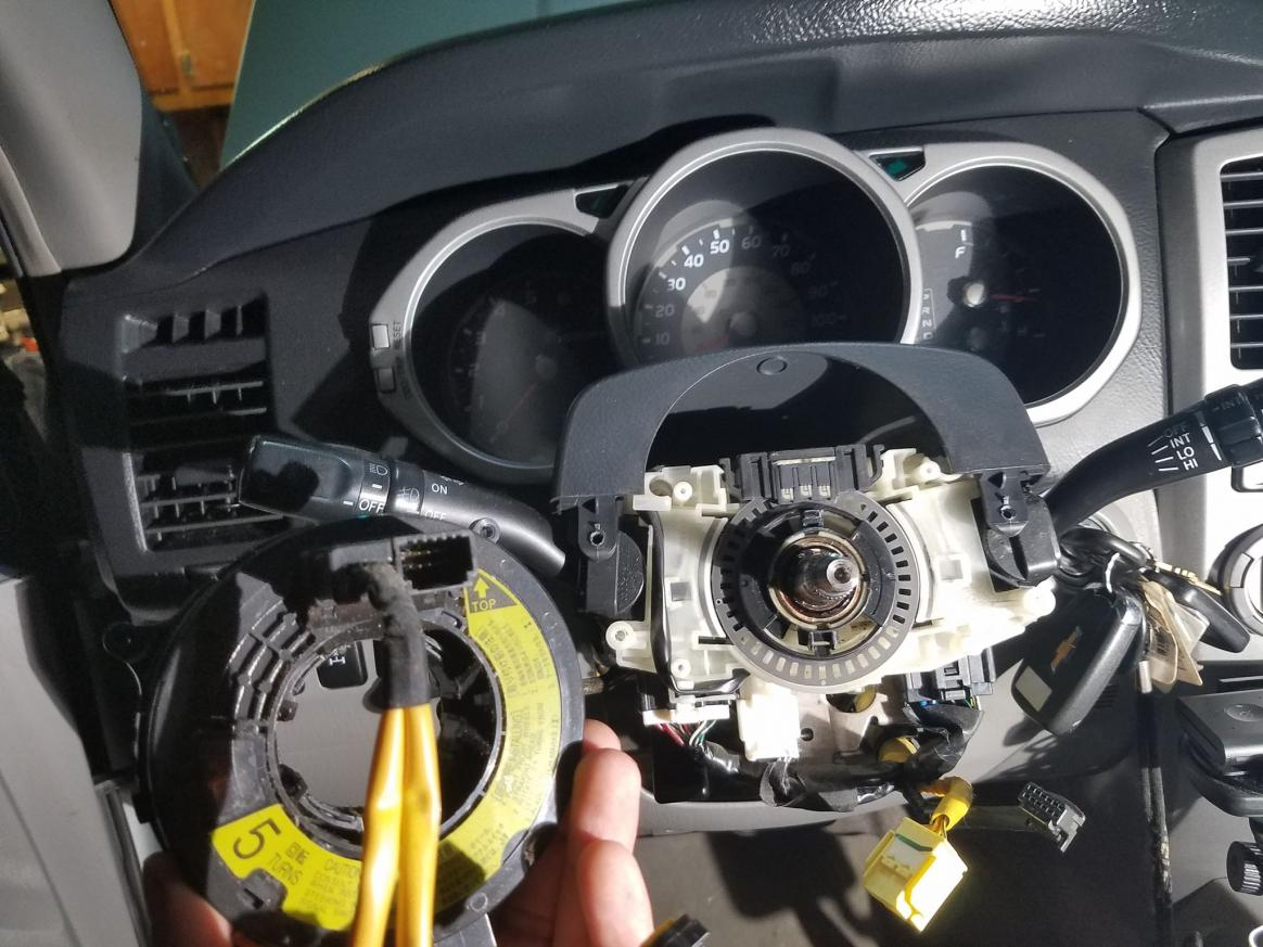 UPDATE FIXED* Clock spring replaced problem solved! - Airbag light stuck on-6-jpg