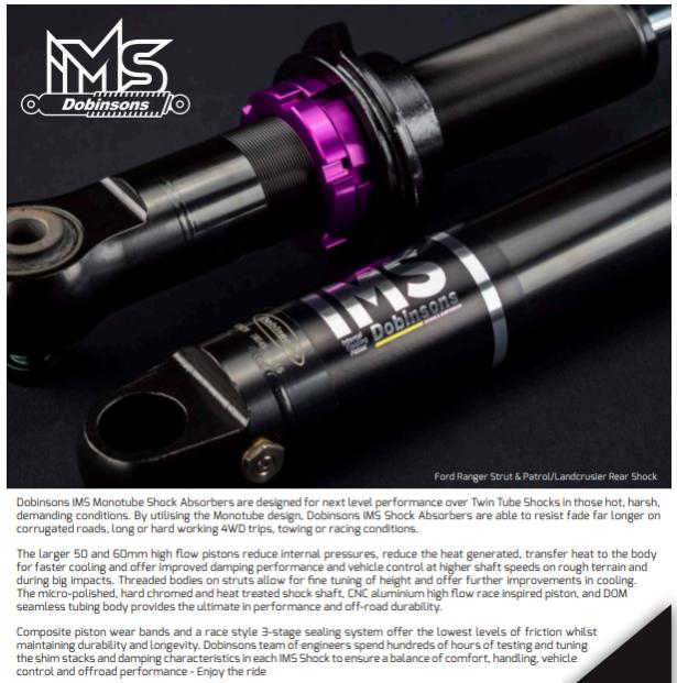 Dobinsons IMS Struts and Shocks - Adjustable Height Monotubes - 4th Gen 4Runners-dobinsons-ims-description-jpg