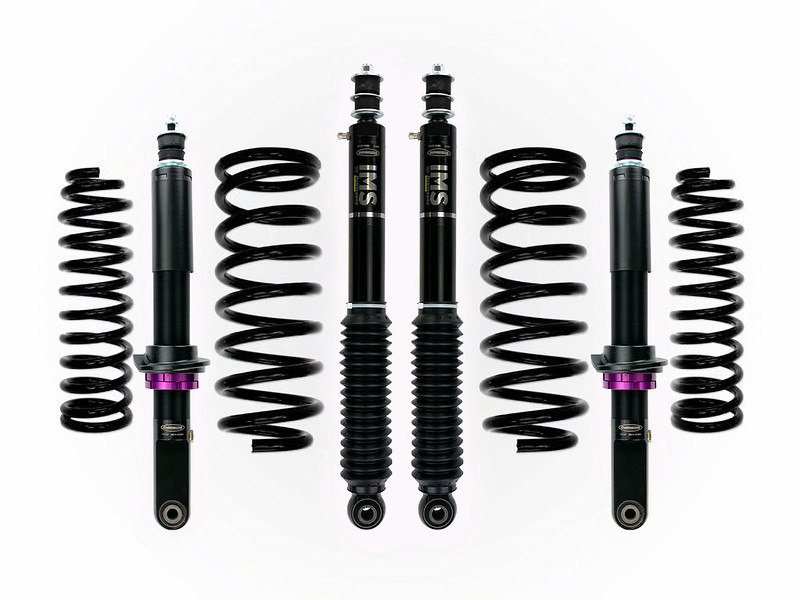 Dobinsons IMS Struts and Shocks - Adjustable Height Monotubes - 4th Gen 4Runners-dobinsons-ims-4runner-kit-all-black-jpg
