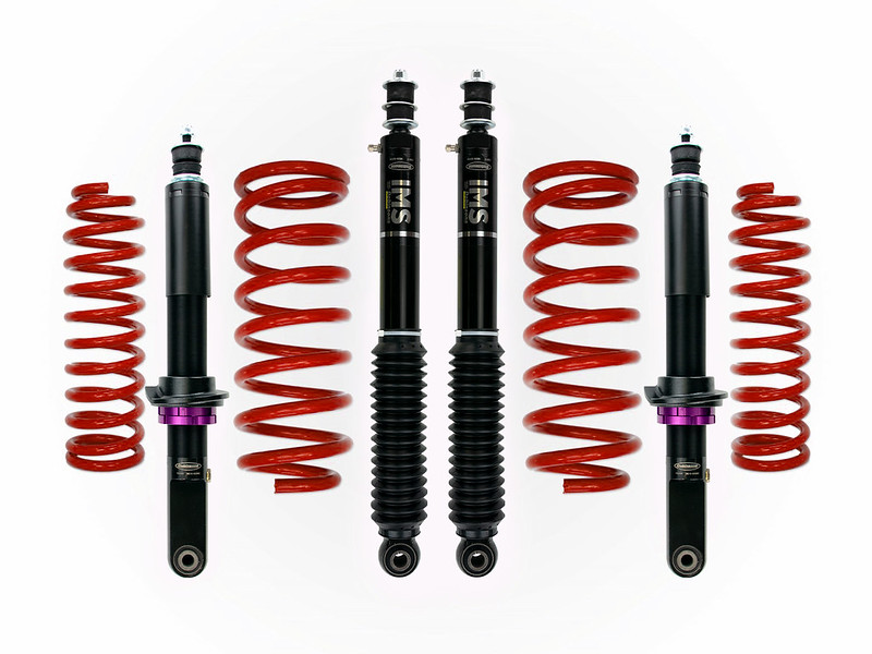 Dobinsons IMS Struts and Shocks - Adjustable Height Monotubes - 4th Gen 4Runners-ims-kit-red-jpg