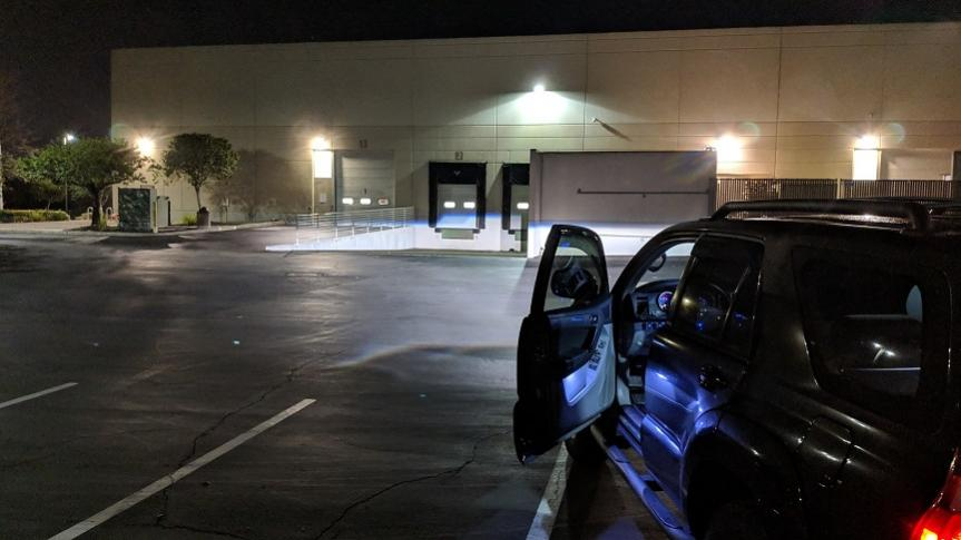 03->06 Projector with HID hot spot issue-img_20190125_043403-jpg