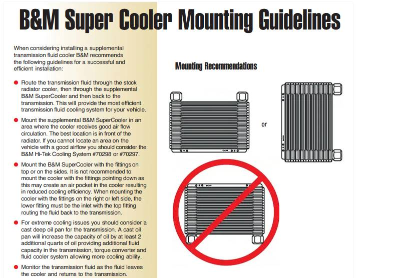 Add ATF fluid after installing transmission cooler?-bmcooler-jpg