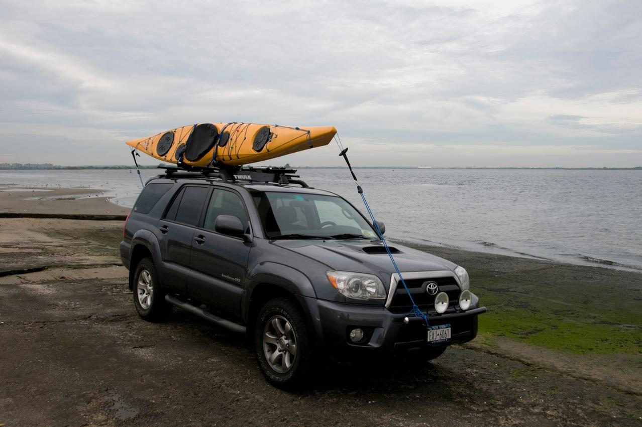 Pic Request Kayak In 4th Gen Factory Roof Rack And Cross