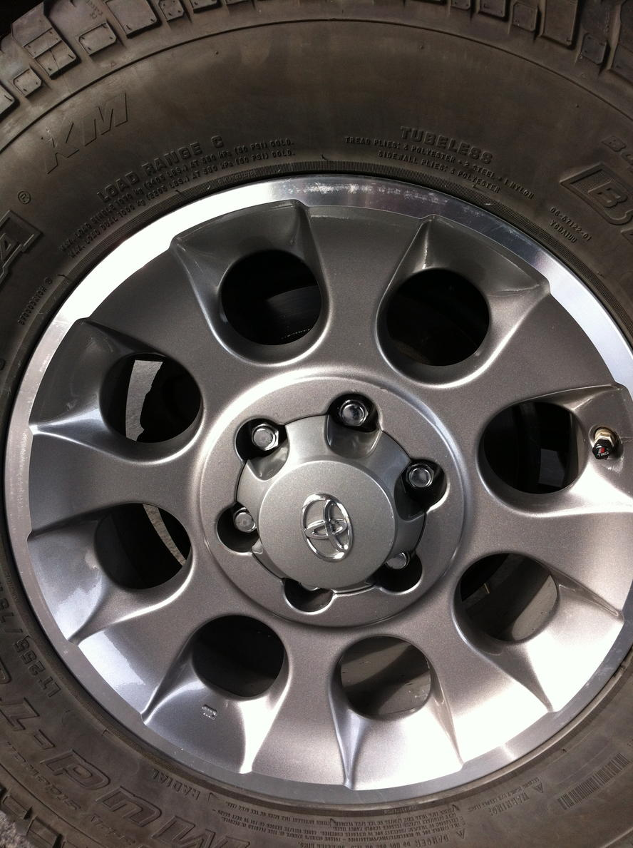 5th Gen 4runner Wheels >> Anyone put 5th gen Trail Edition Wheels on a 4th gen? - Page 2 - Toyota 4Runner Forum - Largest ...