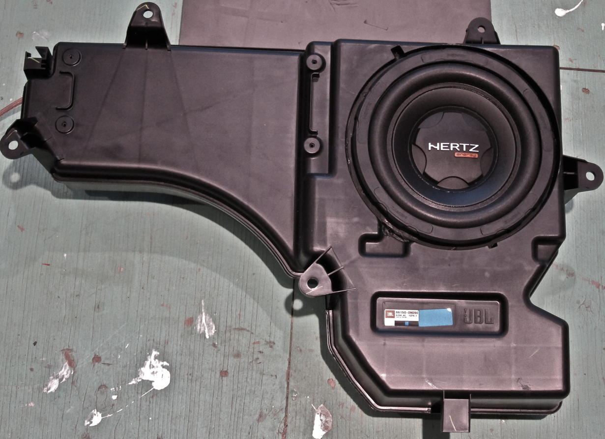 3rd Gen 4runner Subwoofer >> Options for replacing stock JBL subwoofer in 2004 Limited - Toyota 4Runner Forum - Largest ...