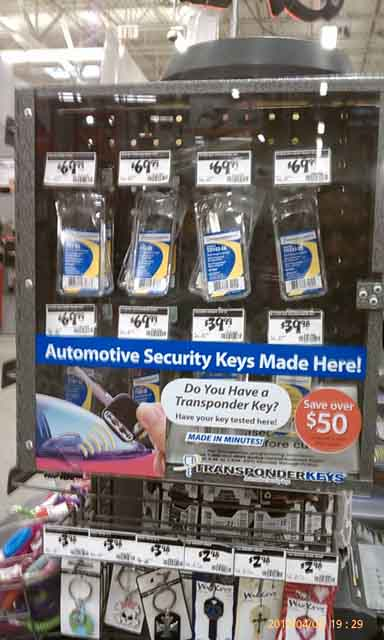 Home Depot Key Copy >> Transponder Key At Home Depot Toyota 4runner Forum