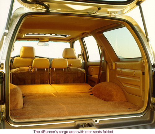 Is the back of a 3rd gen long enough to sleep in? - Toyota 4Runner ...