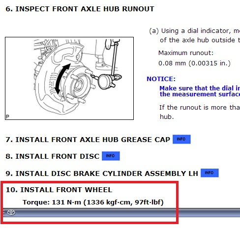 Lug Nut Torque What Value Do You Use