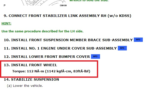 Lug nut torque   what value do YOU use? - Toyota 4Runner Forum