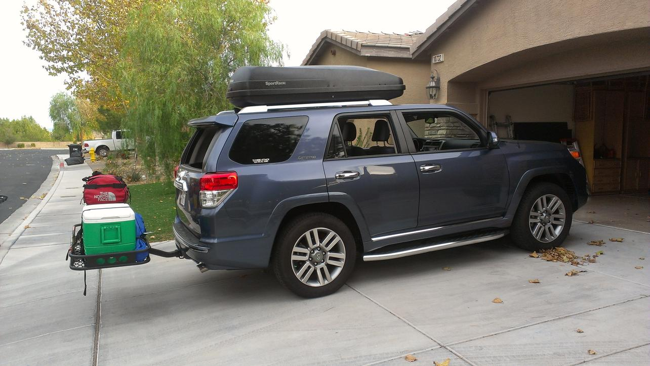 Cargo Carrier For Roof Rack Toyota 4runner Forum