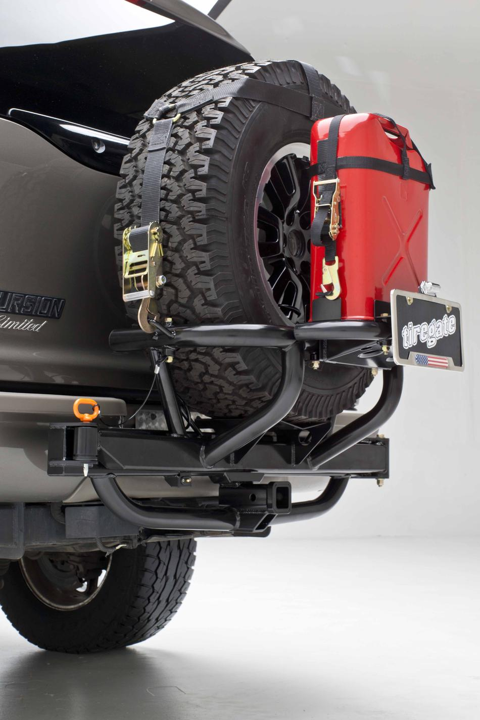 Rear Tire Carrier Without Bumper Upgrade Mod Toyota