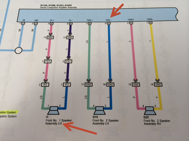 jbl amp wiring diagram  toyota 4runner forum  largest