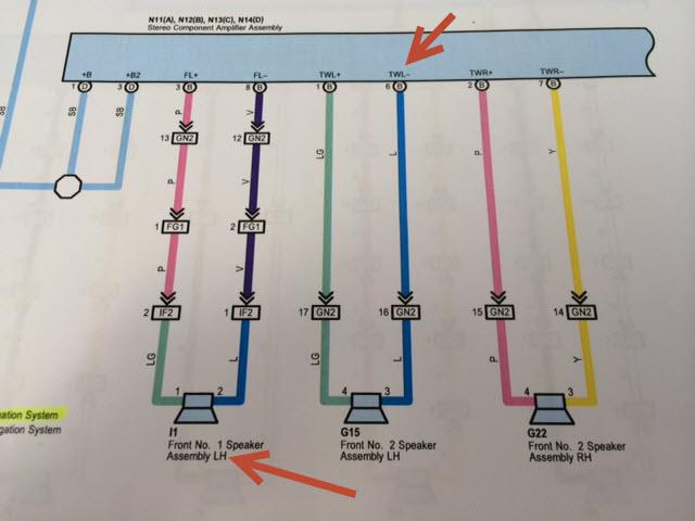 Jbl Amp Wiring Diagram - Toyota 4runner Forum