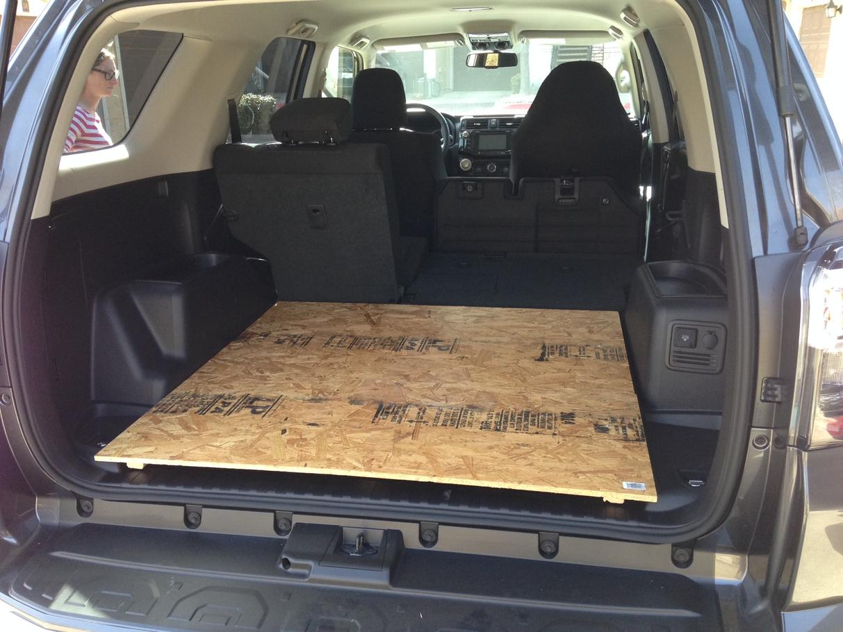 Has Anybody Added A Rear Sliding Cargo Tray Toyota