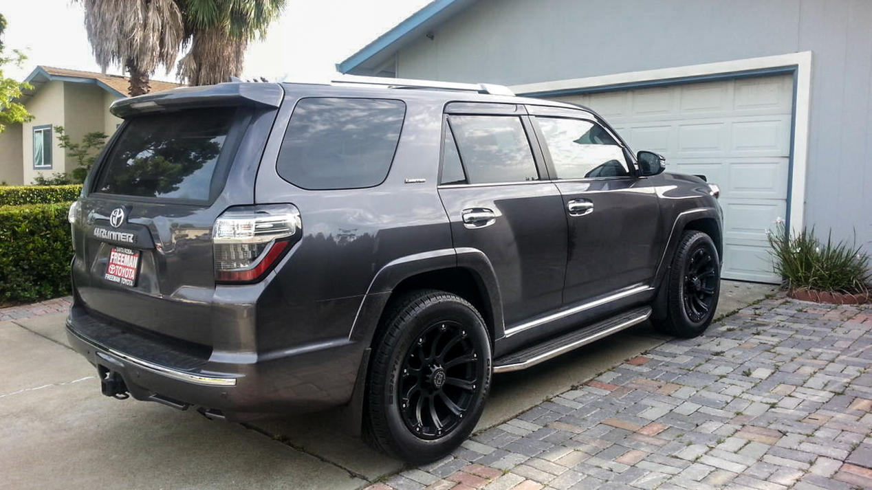 2011 Toyota 4Runner Limited For Sale >> Best Looking Black Wheels, 2010 4Runner - Page 5 - Toyota ...