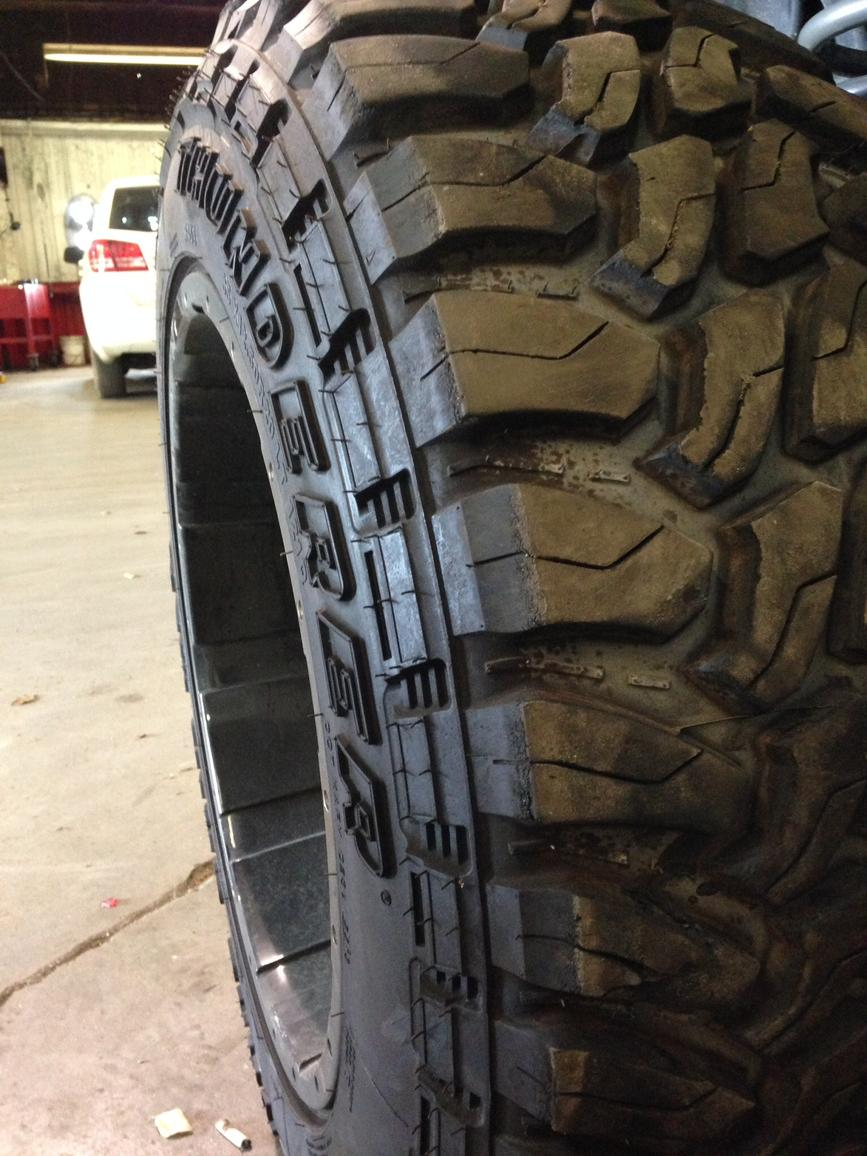 Stock Tire Size 265 70 17 On An Aftermarket 17x9 Rim Toyota