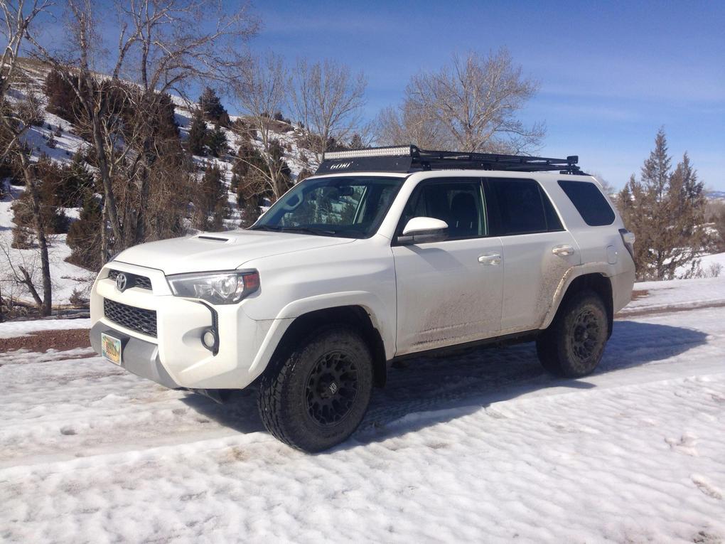 Toyota 4runner 2014 White
