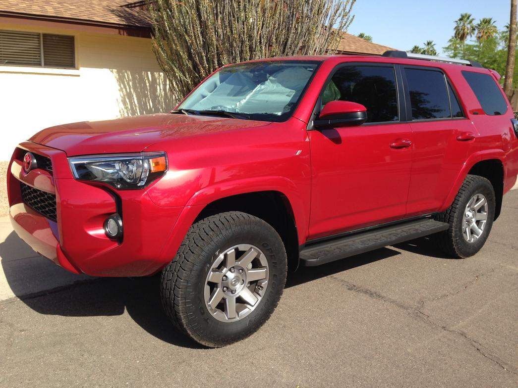 Barcelona Red 4Runners! Let's see them! - Toyota 4Runner ...