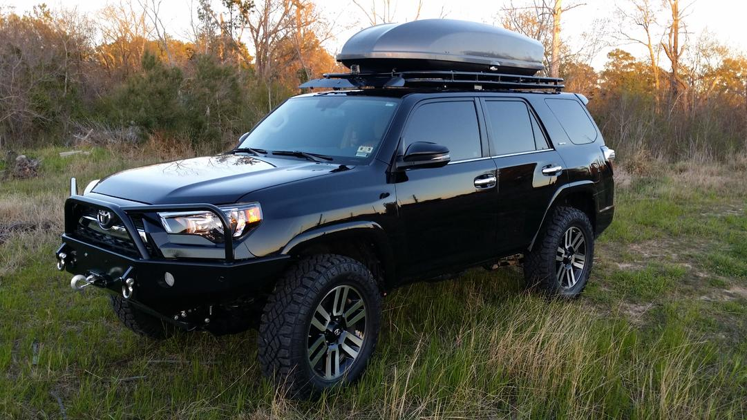 2013 Model Rooftop Cargo Carriers And 5th Gen Toyota