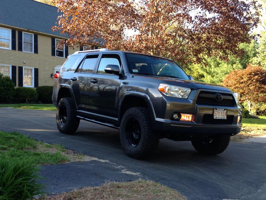 How to paint chrome grill black? - Toyota 4Runner Forum ...