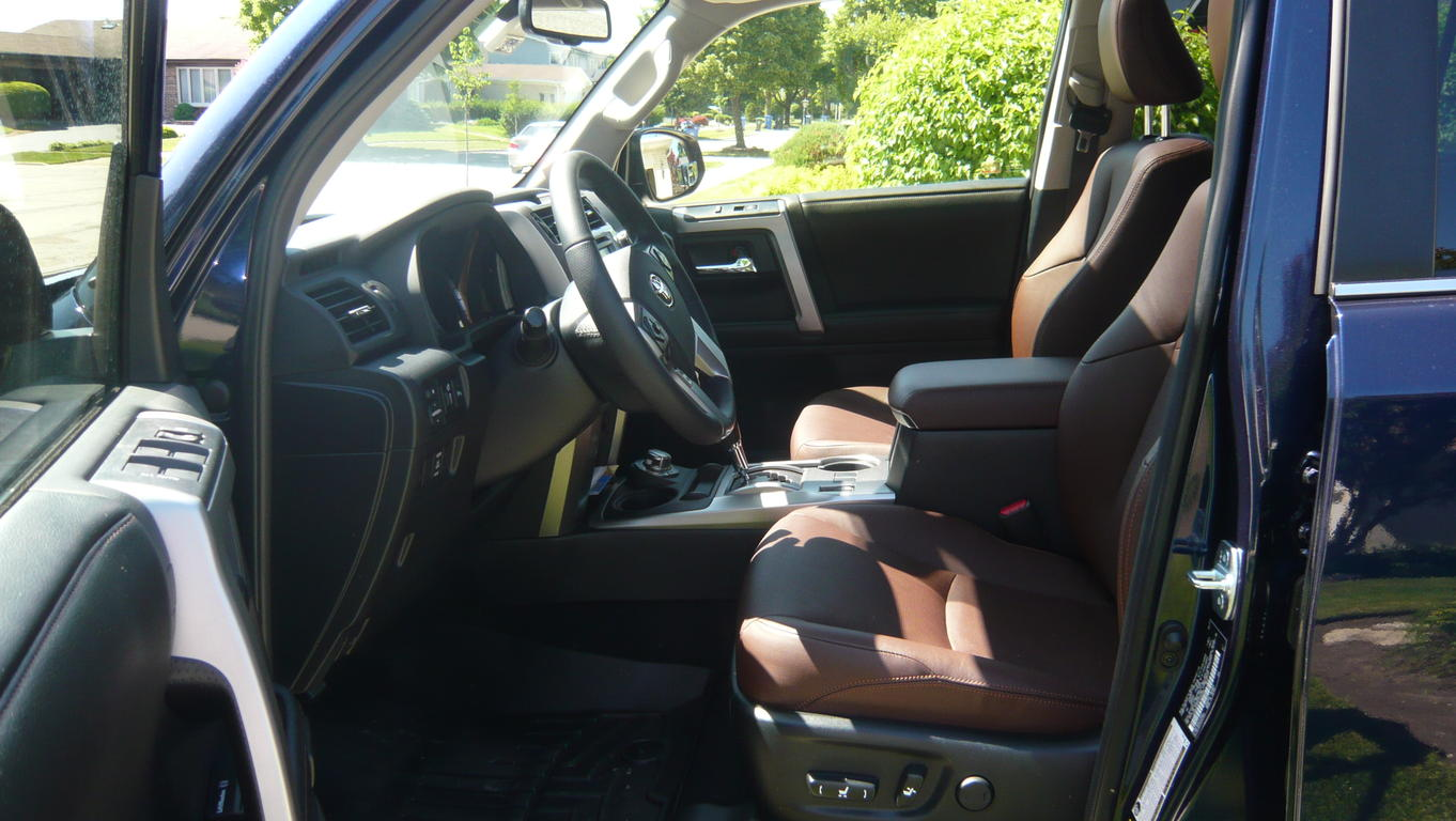 4 Runner Limited With Redwood Interior Autos Post