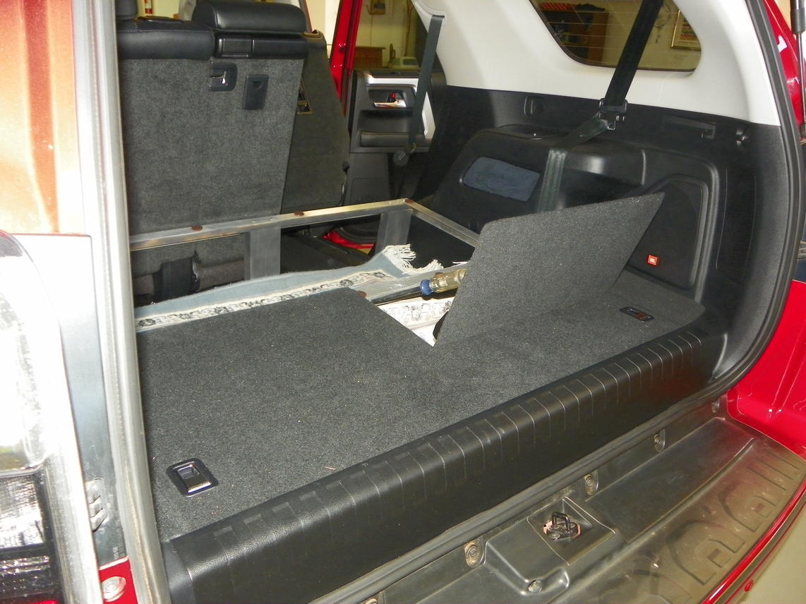 My 3rd Seat Removed Storage Pictures Toyota 4runner