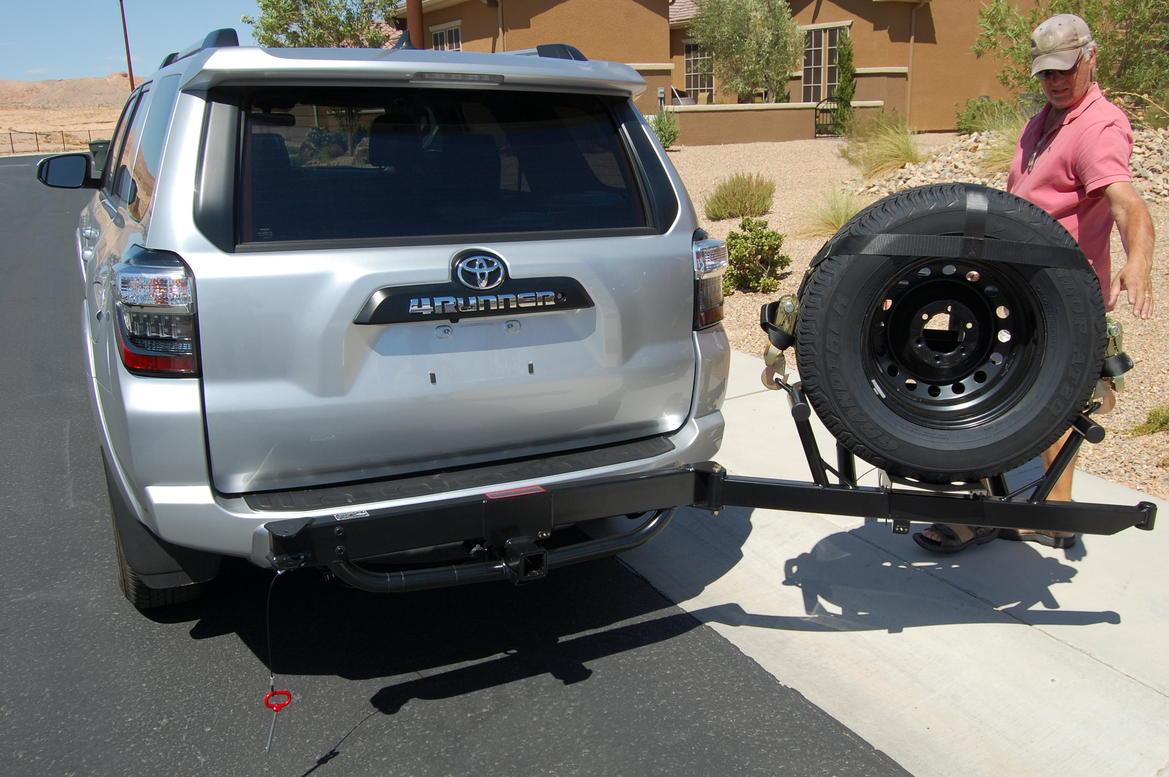 Tiregate Hitchgate Installed Toyota 4runner Forum