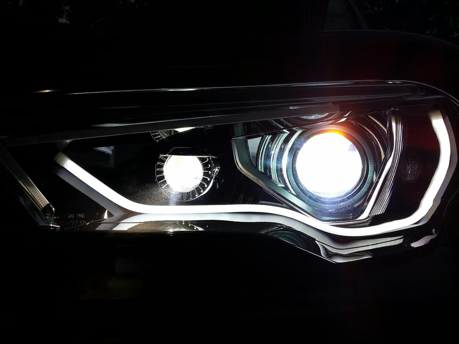 2013 5th Gen Halo Led Drl Install Toyota 4runner Forum