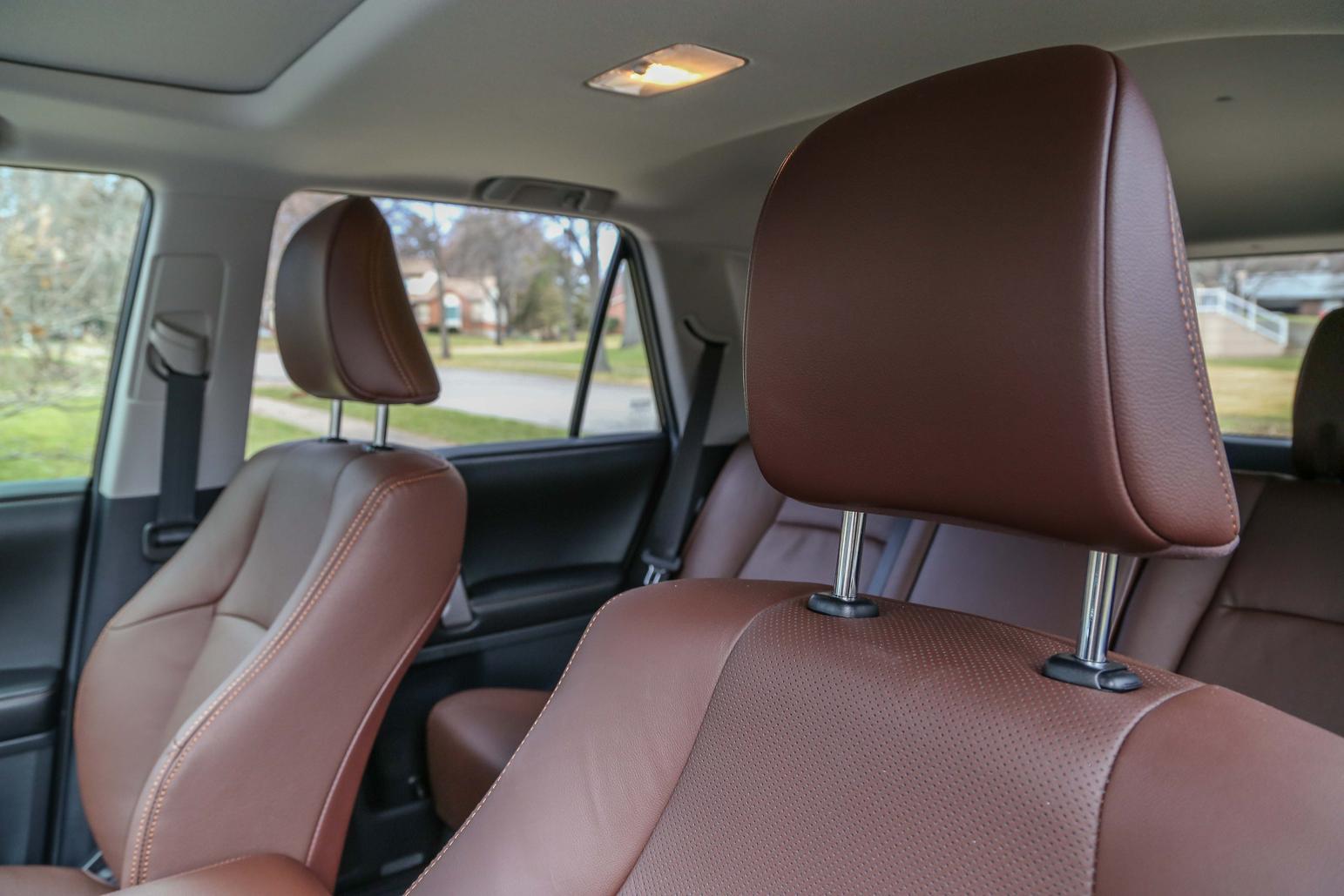 Toyota 4runner Redwood Interior