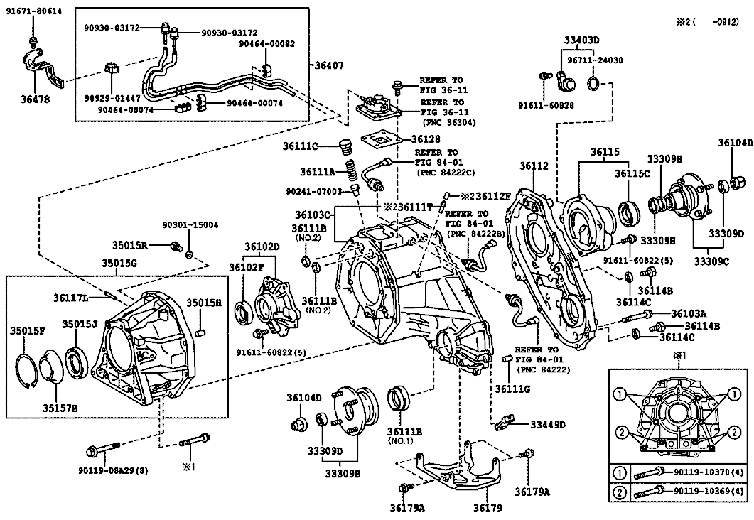 4runner front differential diagram