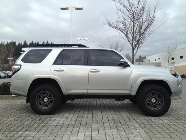 Toyota Four Runner 2015 Calling all Silver 4runners with black or trd wheels ...