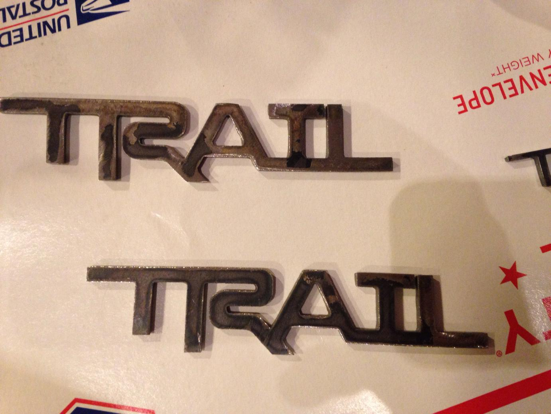 Custom Trail Emblem Made Toyota 4runner Forum Largest