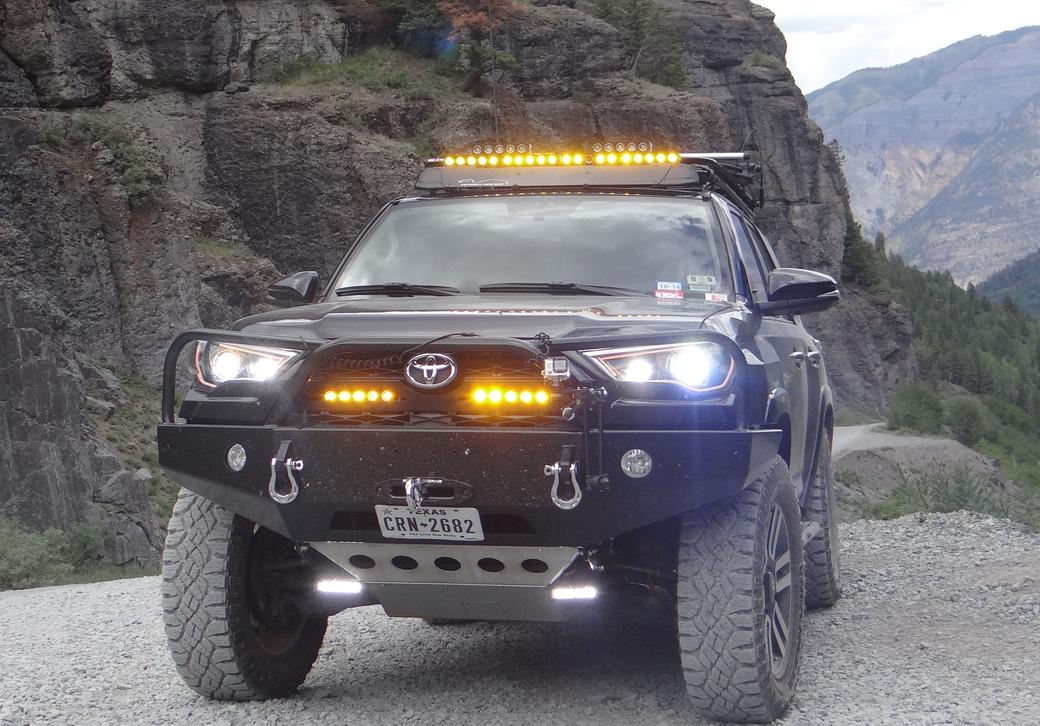 Can Someone Explain How 20142015 Drlhibeam Works Toyota 4runner. Toyota. Toyota 4runner Bumper Guard Diagram At Scoala.co