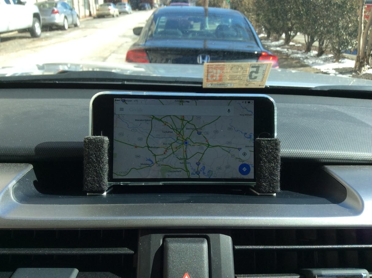 Custom Dash Mount For Phone Iphone Ipad Or Tablet
