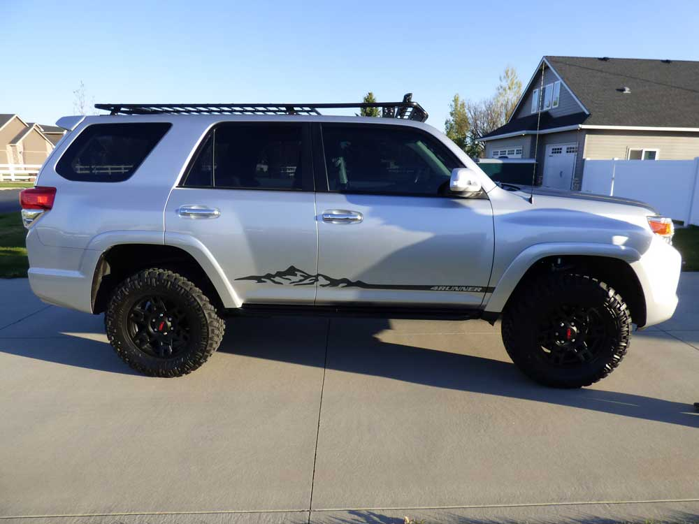 Vinyl wraps decal interest toyota 4runner forum largest 4runner forum