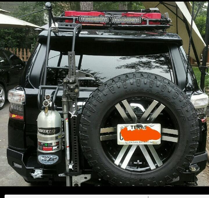 Spare Tire Relocation Examples Ideas Toyota 4runner Forum Largest 4runner Forum
