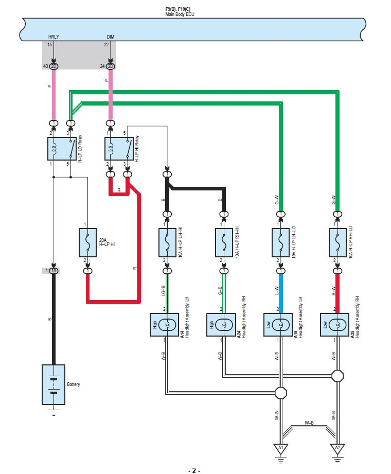 aob-diagram- aob switch install question - negative switched headlights or  not?-wiring-diagram-