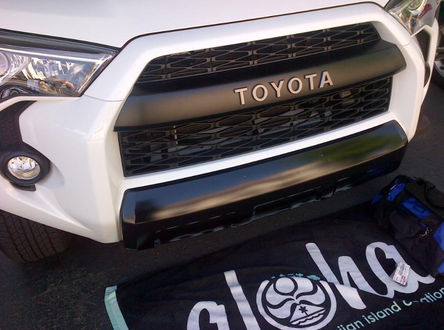 Toyota 4Runner 2014-2019 TRD PRO Lower Rear Bumper Valance Clips Genuine OEM
