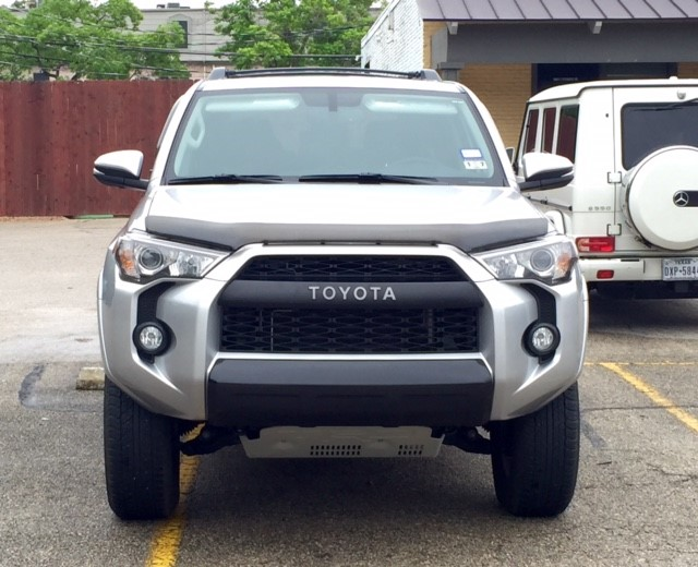Installing trd pro bumper trim pieces on sr5 page 4 for Garage toyota valence