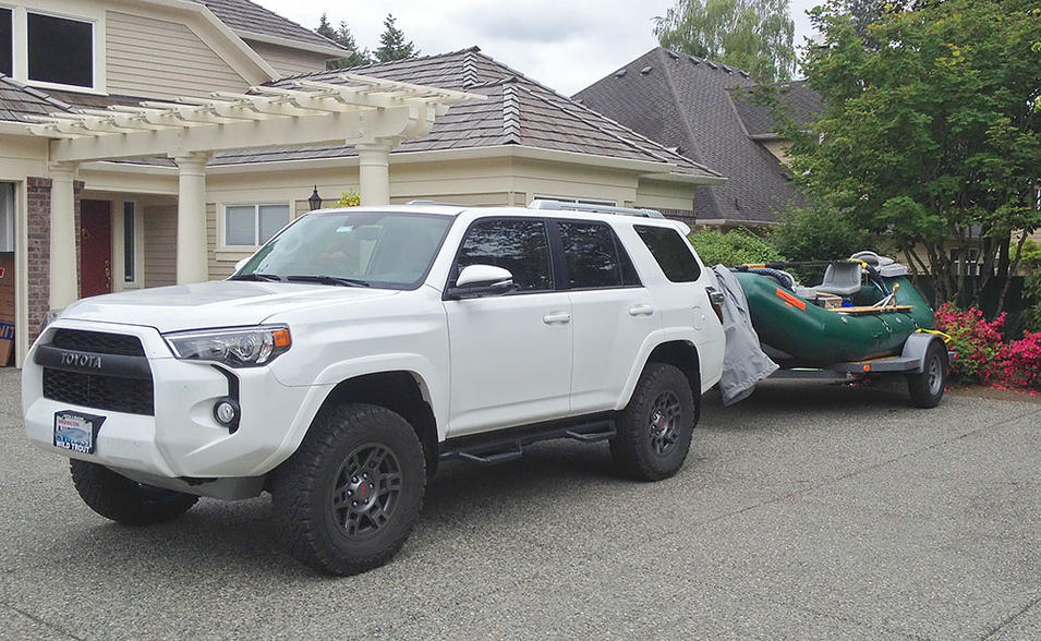 How Do You Carry Your Longboards Sup Toyota 4runner