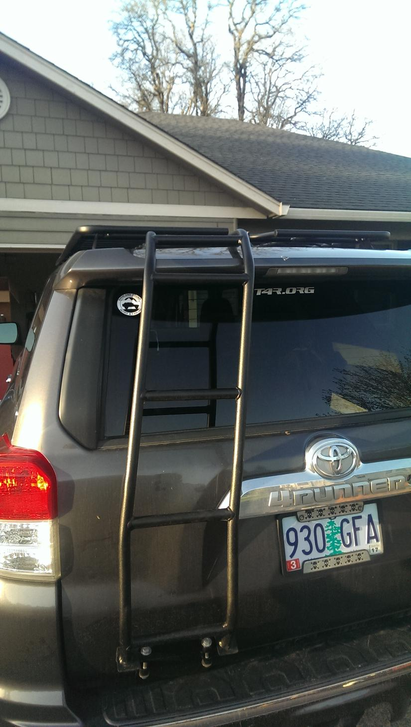 Baja Rack Rear Ladder Coming Soon Page 2 Toyota