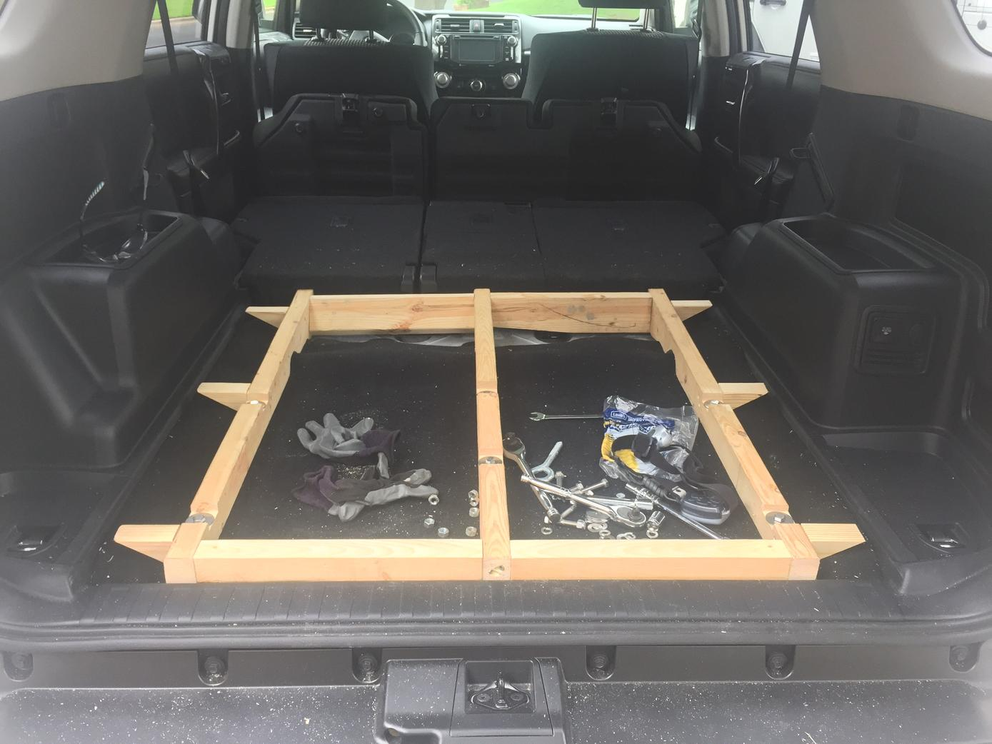 Flat Cargo Area With Tie Downs And Storage Toyota