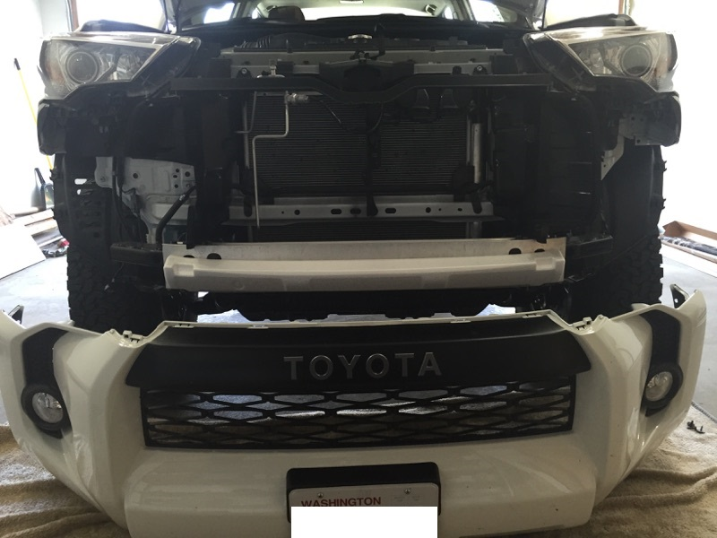 Installing Trd Pro Bumper Trim Pieces On Sr5 Page 6 Toyota 4runner