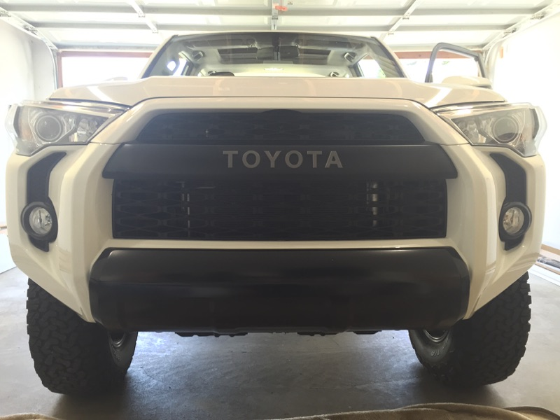 Installing Trd Pro Bumper Trim Pieces On Sr5 Page 6