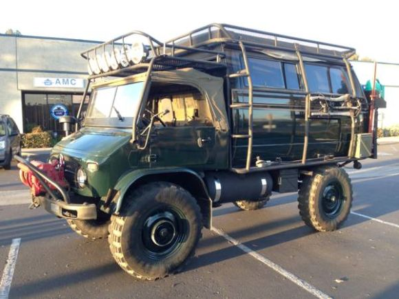 Attached 1965 Mercedes Benz Unimog 404 Front 481 KB