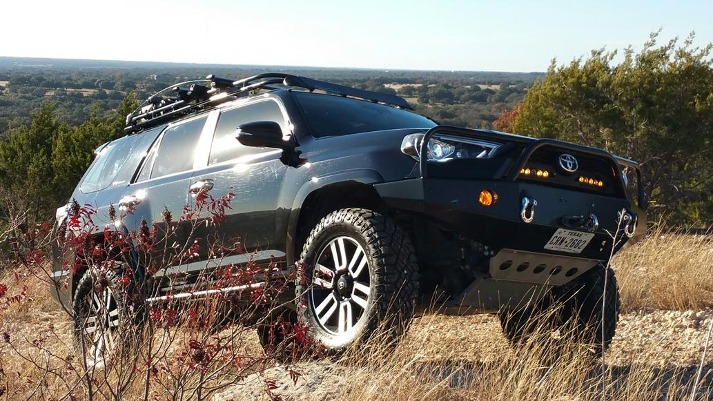 2014 4runner Limited Lift And Chrome Question Toyota
